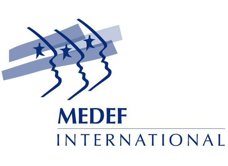 MEDEF international - Logo